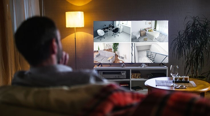 Tv-Security-Feed-Video-Monitoring